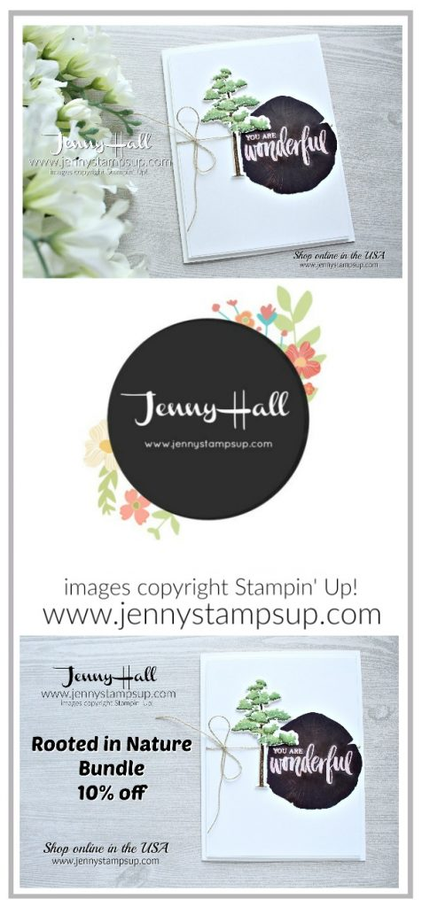 May Be Inspired Blog Hop card created by Jenny Hall at www.jennyhalldesign.com for #cardmaking #bloghop #bibh #beinspiredbloghop #beinspireddesignteam #rootedinnature #masculinecard #cascards #cleanandsimplecard #jennyhall #jennyhalldesign #jennystampsup #youtuber #stamping #stampinup #crafts #craftsforkids #lifestyle #diy #fussycut #newstamps #ombre #ombrestamping #glossywhitepaper