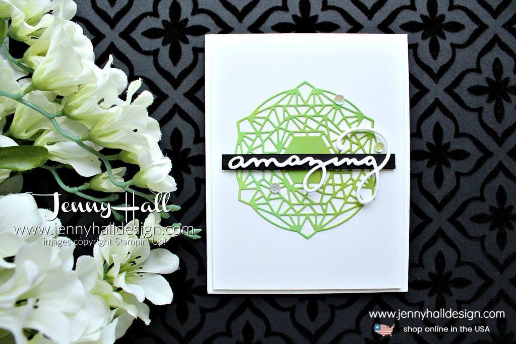 June Be Inspired Blog Hop card created by Jenny Hall at www.jennyhalldesign.com for #cascard #cascards #cleanandsimplecard #beautifullayersthinlits #glossywhitepaper #celebrateyouthinlits #crafts #craftsforkids #jennyhalldesign #jennyhall #jennystampsup #diy #stamping #stampinup #papercrafting #beinspiredbloghop
