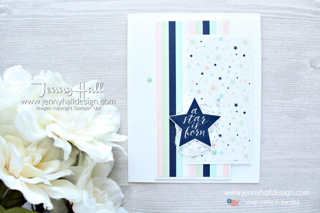 June Ink & Inspiration Blog Hop card created by Jenny Hall at www.jennyhalldesign.com for #cardmaking #cardmaker #jennyhall #jennyhalldesign #jennystampsup #stampinup #stamping #papercrafts #videotutorial #youtuber #crafts #craftsforkids #hobbies