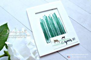 June Ink It Stamp It blog hop card created by Jenny Hall at www.jennyhalldesign.com for #stamping #bloghop #cardmaker #cardmaking #stampinup #seizetheday #stamparatus #stamppositioner #jennyhall #jennyhalldesign #jennystampsup #youtuber #crafts #diy #crafting #hobby #familycraft #lifestyle #ink
