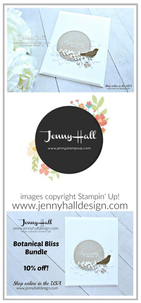 Botanical Bliss neutral color card created by Jenny Hall at www.jennyhalldesign.com for #cardmaking #cardmaker #handmadecard #greetingcard #youtuber #botanicalbliss #botanicaltagsframelits #stamping #stampinup #diy #crafts #papercraft #craftsforkids #makeacardsendacard #stitchedshapedframelits #jennyhall #jennyhalldesign #jennystampsup #creativelife #globaldesignproject