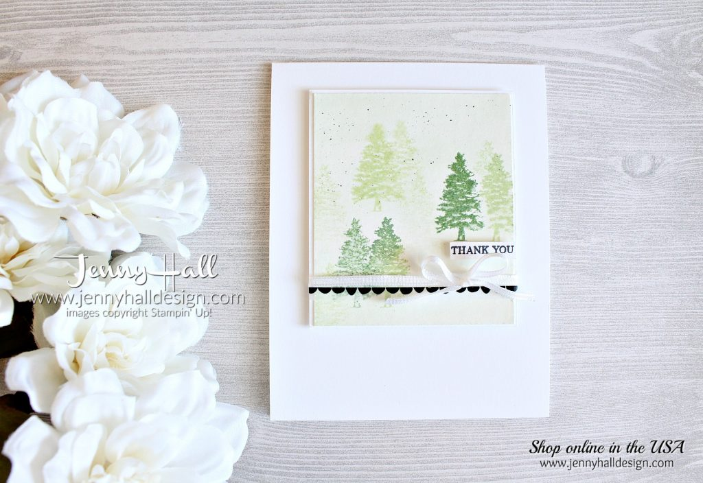 Rooted in Nature card created by Jenny Hall at www.jennyhalldesign.com for #cardmaking #cardmaker #rootedinnature #cascards #cleanandsimplecards #jennyhall #jennyhalldesign #watercoloring #softseafoam #mintmacaron #washitape #videotutorial #papercrafting #globaldesignproject #rubberstamp