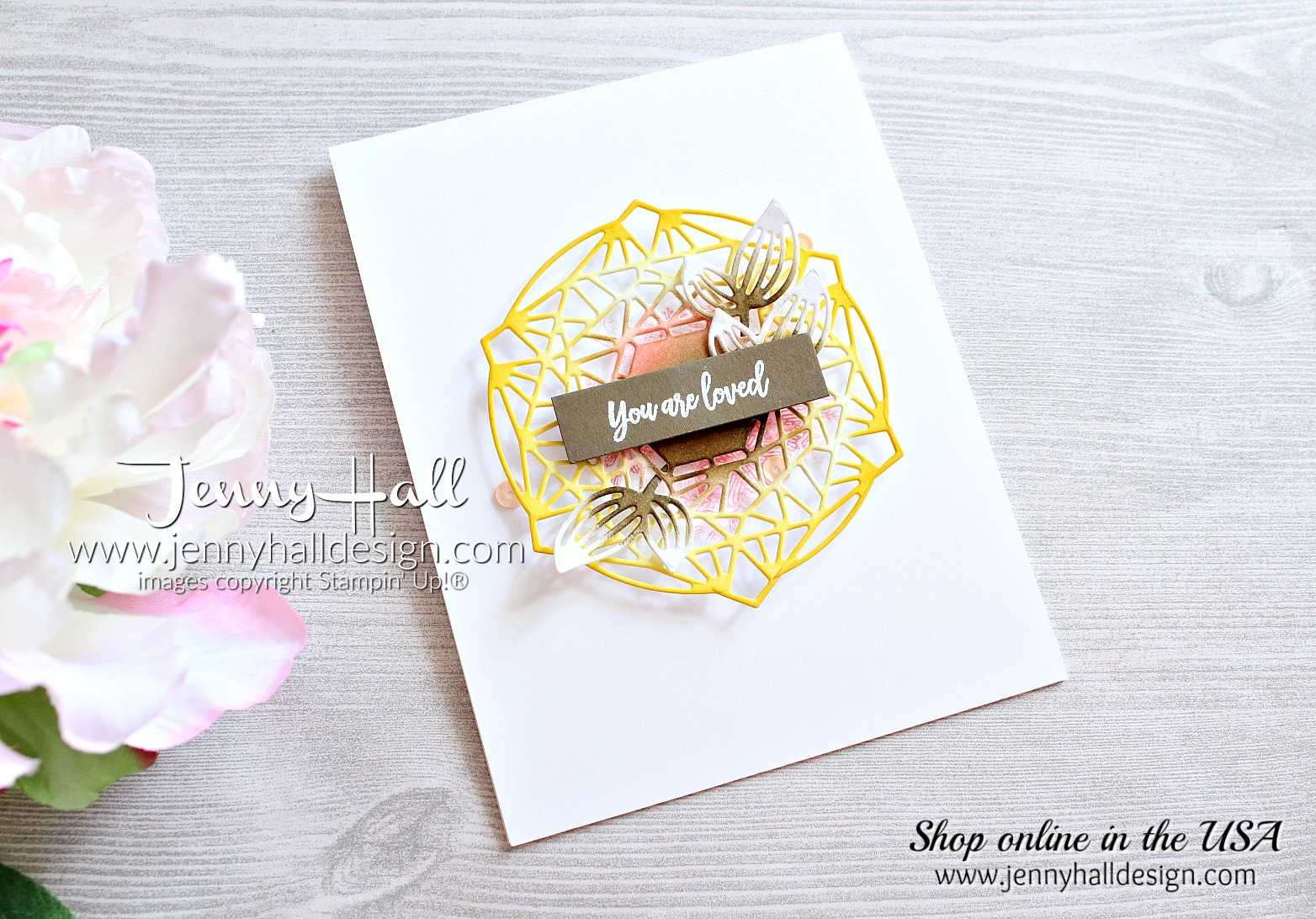 Beautiful Promenade created by Jenny Hall at www.jennyhalldesign.com for #cardmaking #handmadecard #stamping #stampinup #beautifulpromenade #beautifullayersthinlits #jennyhall #jennyhalldesign #jennystampsup #color #papercrafts #cascards #cleanandsimplecard #artsandcrafts #diy #fallcolor #lifestyle #maker