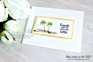 Waterfront CAS Card created by Jenny Hall at www.jennyhalldesign.com for #cardmaking #CASCards #whatwillyoustampchallenge #waterfrontstampset #stamping #stampinup #papercrafts #creativelife #diy #artsandcrafts #handmadecard #youtuber #crafty #hobbies