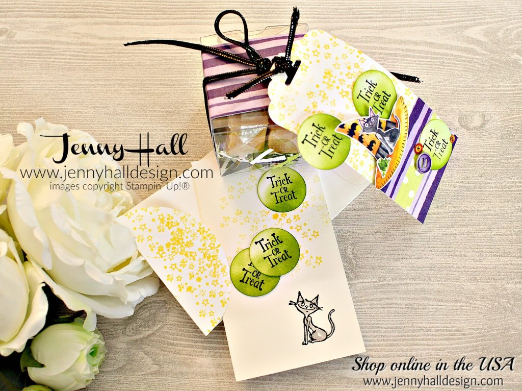 OSAT BLOG HOP Halloween Treat packaging by www.jennyhalldesign.com for #halloween #treatpackaging #cauldronbubble #toilandtroubledsp #narrownotecards #scalloptoptagpunch #teachergift #diypackaging #artsandcrafts #cardmaking #osatbloghop #jennyhall #jennyhalldesign #jennystampsup #stamping #stampinup #papercraft #hobbies #craftsforkids