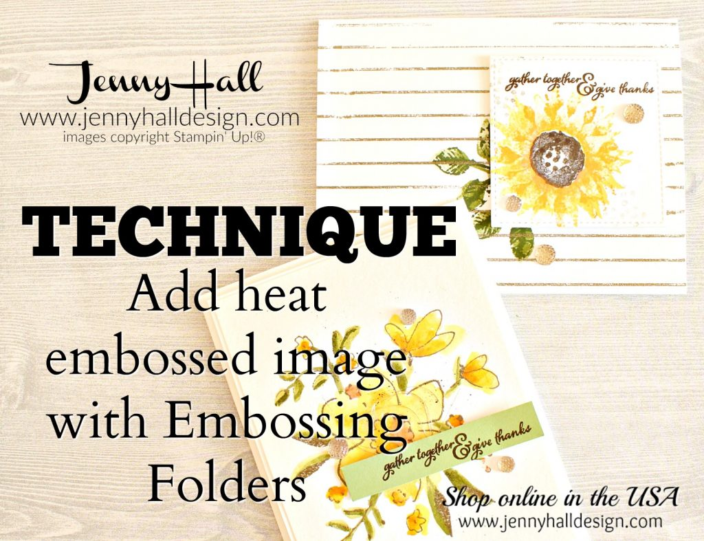 Get more use from embossing folders www.jennyhalldesign.com for #cardmaking #handmadecard #embossingfolder #stampwithanembossingfolder #jennyhalldesign #jennyhall #jennystampsup #handmadecard #artsandcrafts #cardmaking #stamping #stampinup #videotutorial #youtuber #sipchallenge #paintedharvest #diy #hobbies #cardmakingtechnique