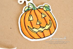Seasonal Chums Halloween treat package by www.jennyhalldesign.com for #cardmaking #treatpackage #seasonalchums #halloween #jennyhall #jennyhalldesign #jennystampsup #teachergift #christiancraft #stampinup #stampinup30 #papercraft #stampinblends #alcoholmarkers #diy #artsandcrafts