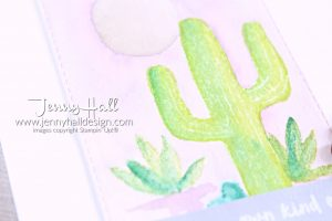 Heat Embossing wood www.jennyhalldesign.com #jennyhall #jennyhalldesign #jennystampsup #floweringdesert #watercoloring #adultcoloring #sipchallenge #cascards #freecardmakingtutorial #woodembossing #freeartlesson #youtuber #crafty #rectanglestitcheddies #stampinup #stamping #cardmaking #greetingcard #cactus #handlettered #cactuswatercolor #artsandcrafts