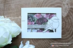 Petal Promenade DSP with Better With You stamps