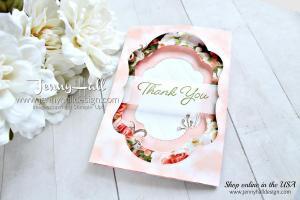 Blended Seasons Tri Fold Window card
