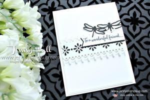 Simple black & white design