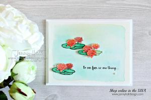 Lilypad Lake watercolor