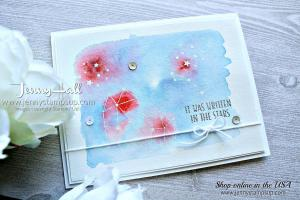 Little Twinkle Patriotic watercolor card