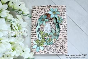 Tri-Fold Window card featuring the Share What You Love DSP