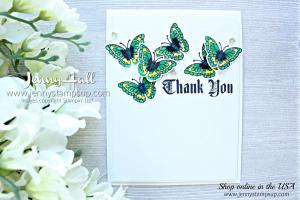 Butterflies with Painted Glass