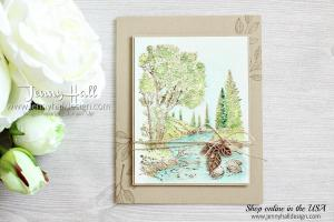 Peaceful Place watercolor