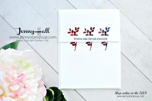Rooted in Nature Ombre card