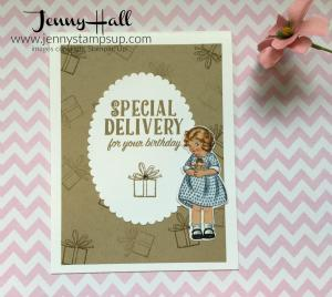 Birthday Delivery by Jenny Hall at www.jennyhalldesign.com
