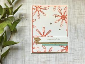 Daisy Delight by Jenny Hall at www.jennyhalldesign.com