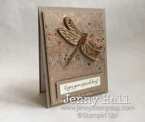 Dragonfly Dreams in copper by Jenny Hall www.jennyhalldesign.com