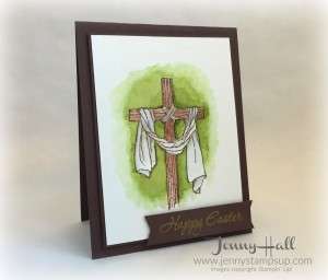 Easter Message card by Jenny Hall www.jennyhalldesign.com