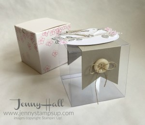 Decorated Gift Box with Best Birds by Jenny Hall www.jennyhalldesign.com