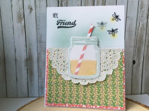 Jar of Love lemonade card