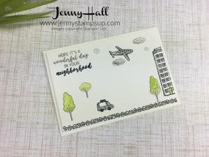 In The City by Jenny Hall at www.jennyhalldesign.com