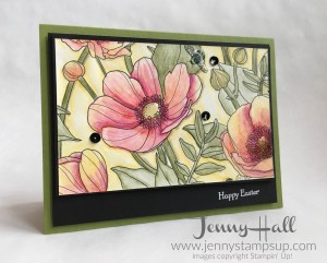Inside the Lines DSP with Watercolor Pencils by Jenny Hall www.jennyhalldesign.com