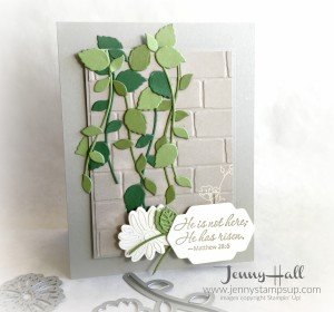 Stylish Stems Easter card by Jenny Hall www.jennyhalldesign.com