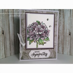 Best Thoughts Floral card