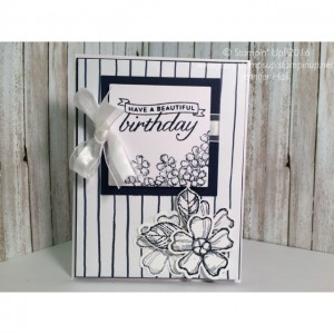 Birthday Blossoms card