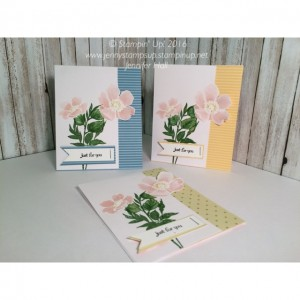 Floral cut-away cards