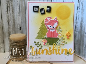 Foxy Friends & Sunshine Wishes Thinlits
