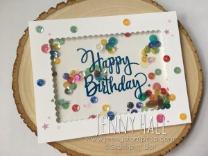 Stylized Birthday